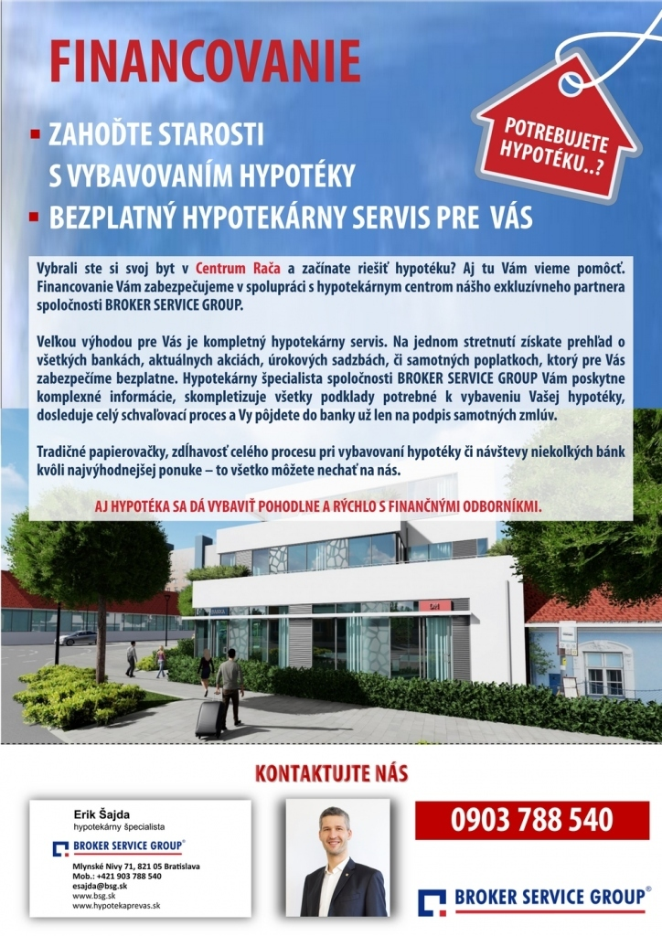d7ee3625ad444 Lákavé ceny nových biznis priestorov - Bratislava, Rača